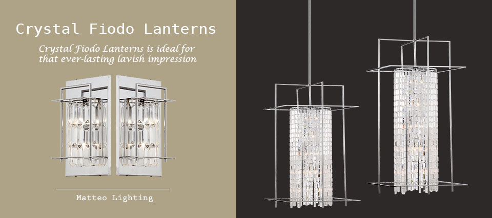 Crystal Fiodo Lanterns